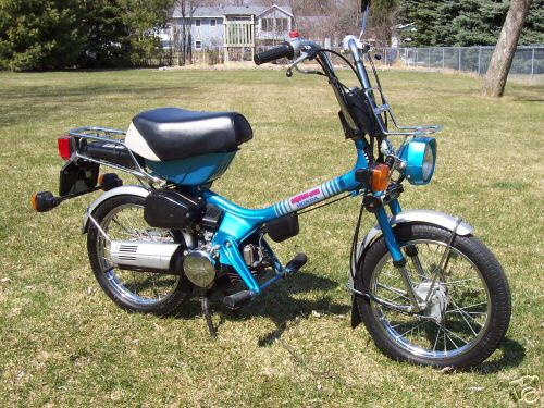 Classic moped parts services for Honda express service