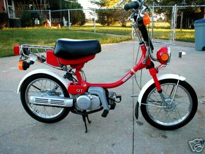 Classic Moped Parts - Services